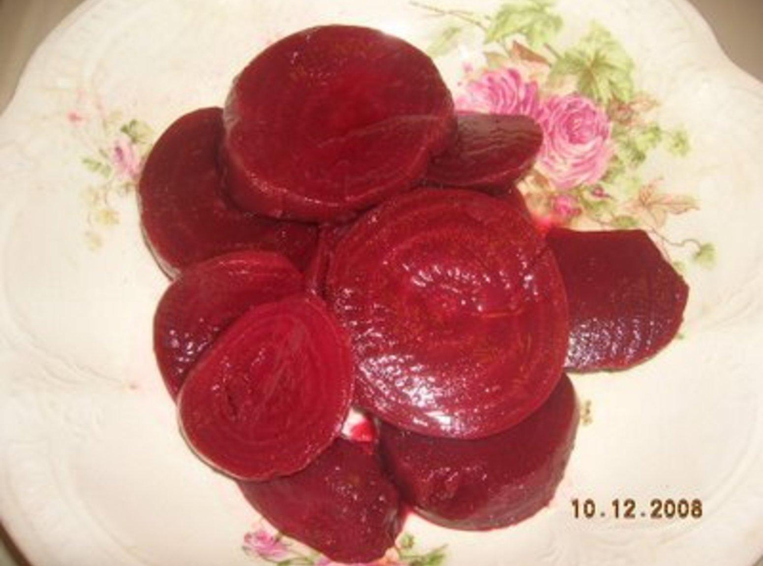 Alma's  Pickled Beets Recipe