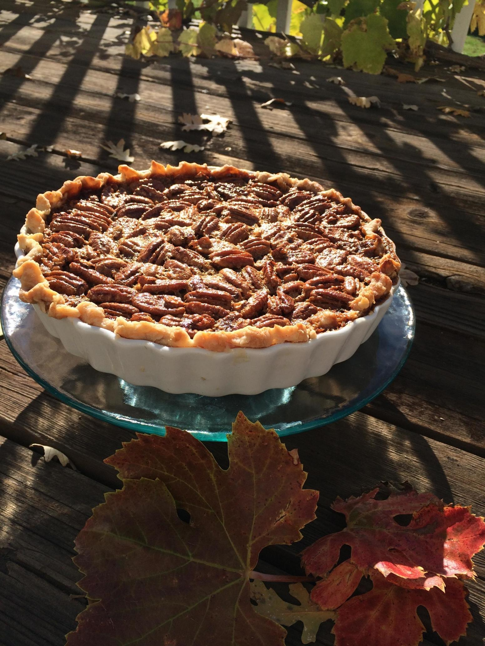 Grandma Gray's Famous Chocolate Pecan Pie (recipe for 2 pies)