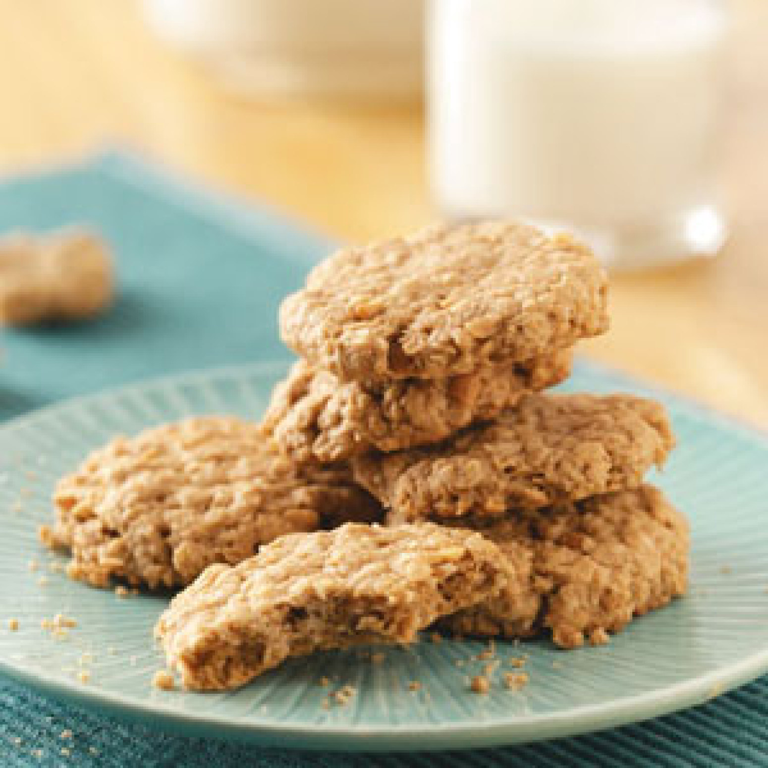 Easy Peanut Butter Oatmeal Cookies Recipe   Just A Pinch Recipes