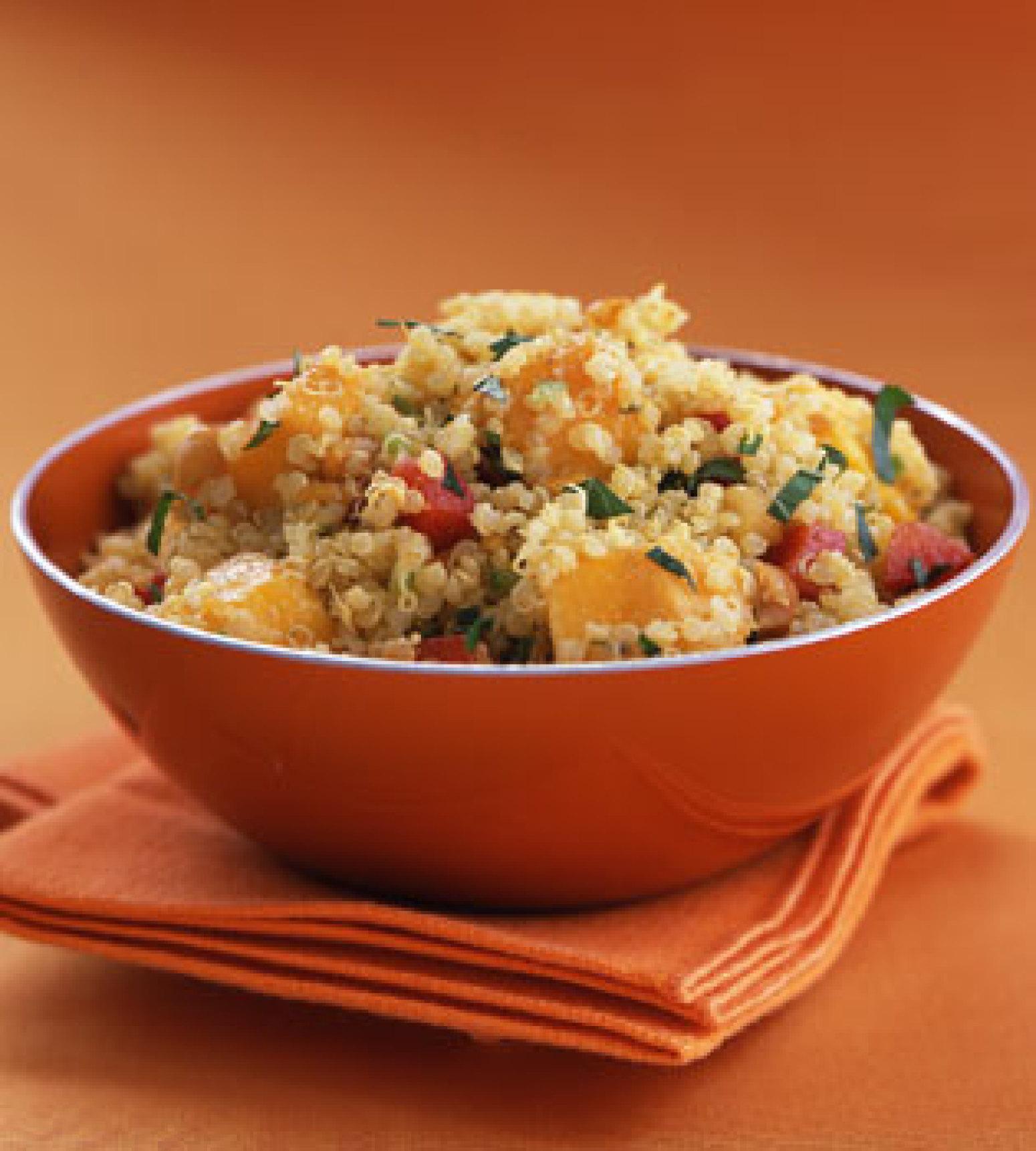 Quinoa with Mango and Curried Yogurt Recipe Epicuriouscom ...
