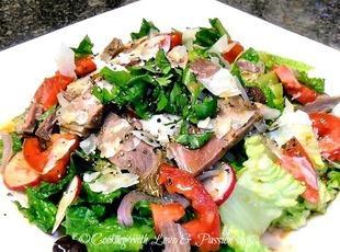 King Timmy's Prime Rib Salad Recipe
