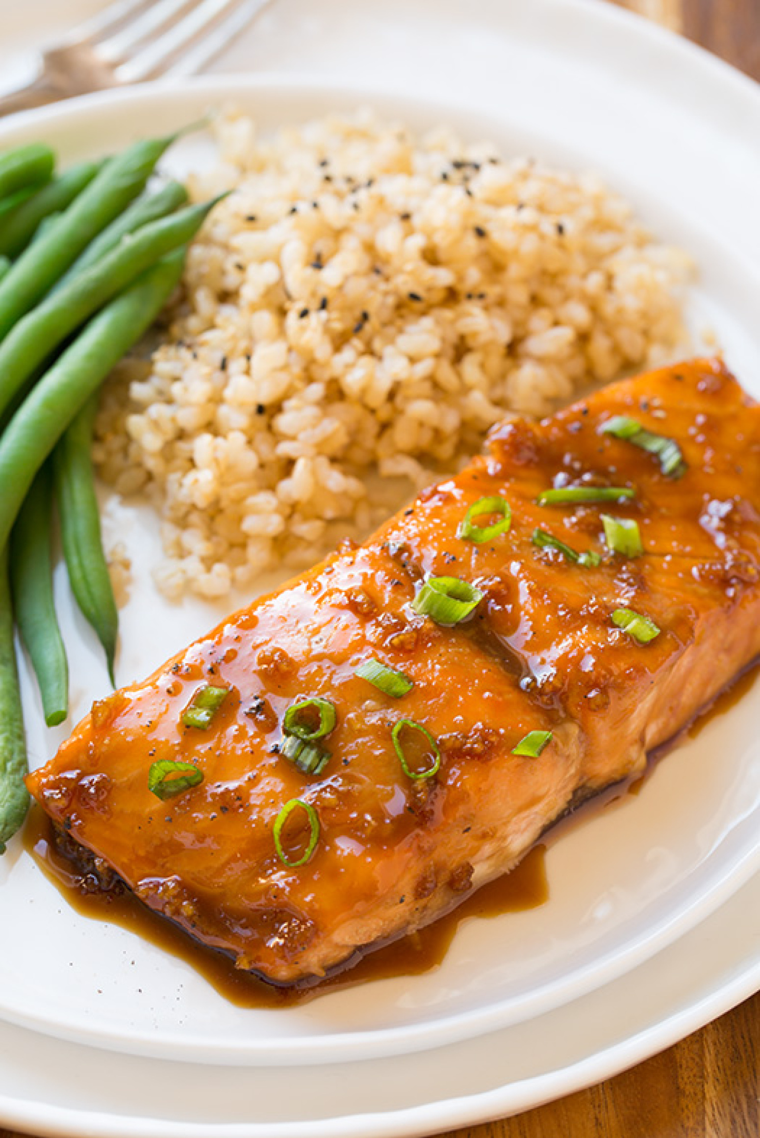 Maple-Soy Glazed Salmon Recipe | Just A Pinch Recipes