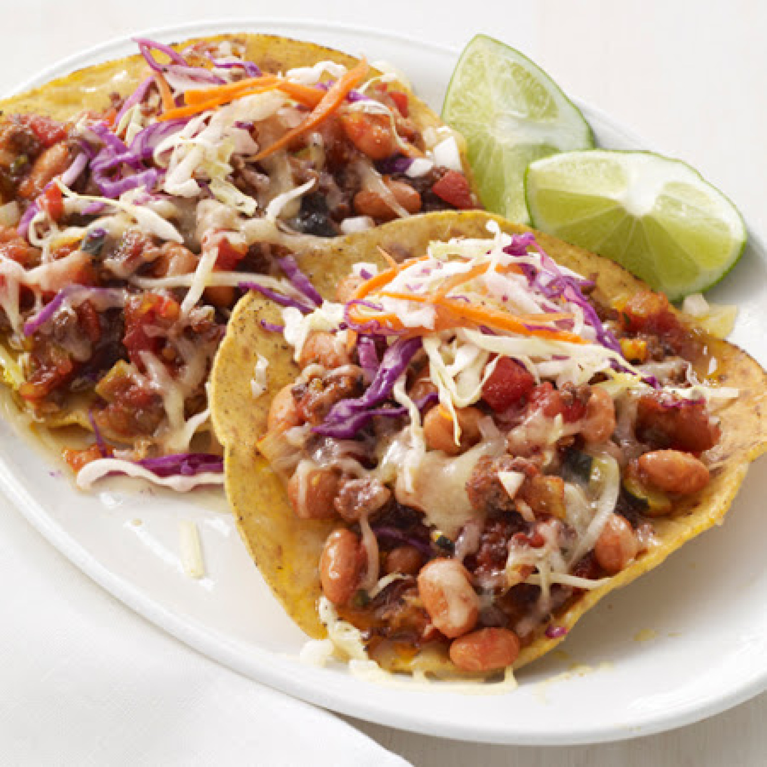 Chipotle Beef Tostadas Recipe 3 | Just A Pinch Recipes