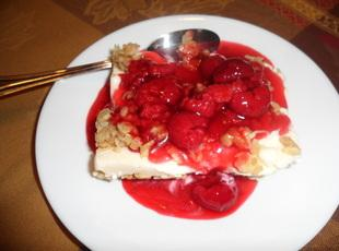 Simple Berry Ice Cream Dessert Recipe