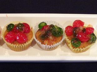 Miniature Fruitcake Cupcakes Recipe
