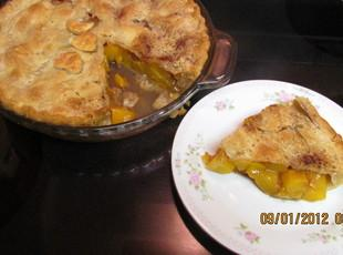 Quick and Easy Peach Pie - Dee Dee's Recipe