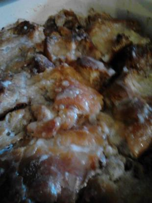 Bread Pudding with Whiskey Sauce - Dee Dee's