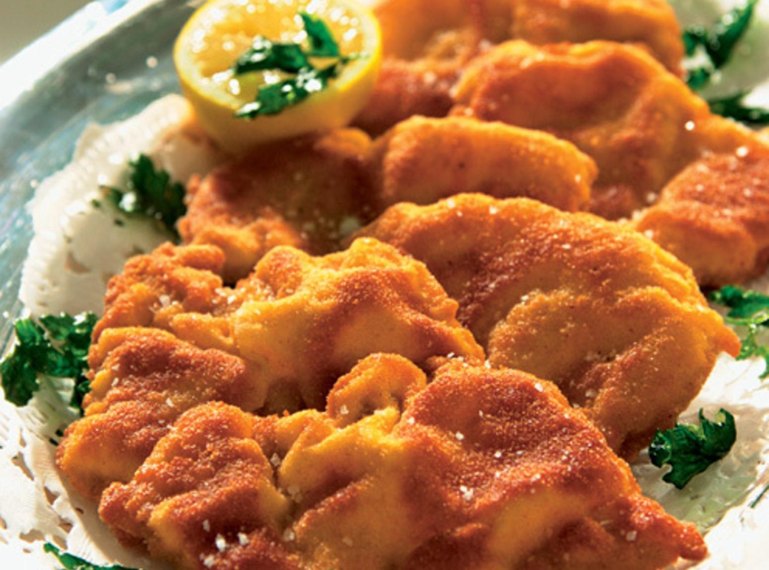 Schnitzel - Thin Breaded German Pork Chops Recipe
