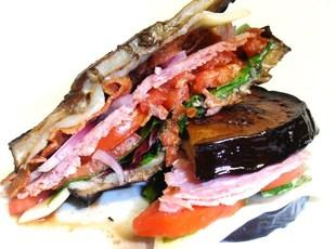 Italian Fried Eggplant Sandwich Recipe