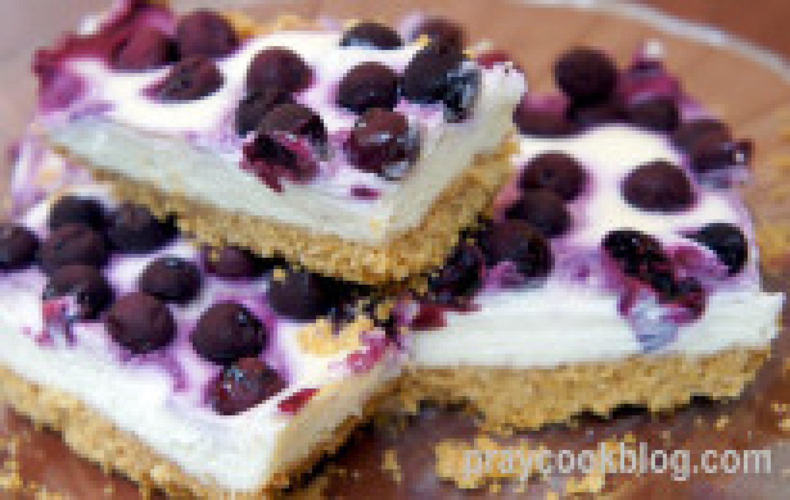 Lemon Blueberry Cheesecake Bars Recipe 9 | Just A Pinch Recipes