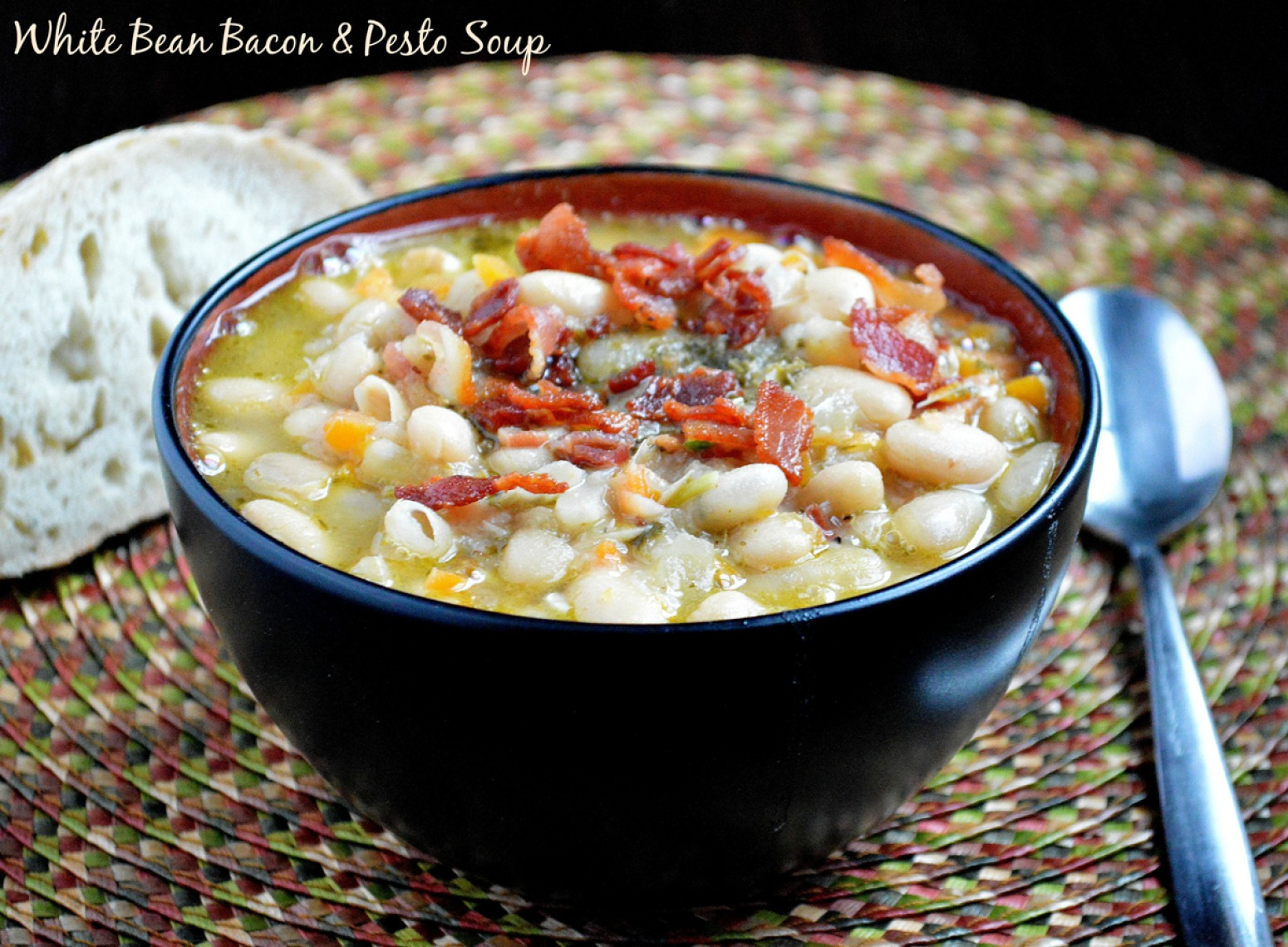 dishmaps tomato white bean bacon soup recipes dishmaps white bean ...
