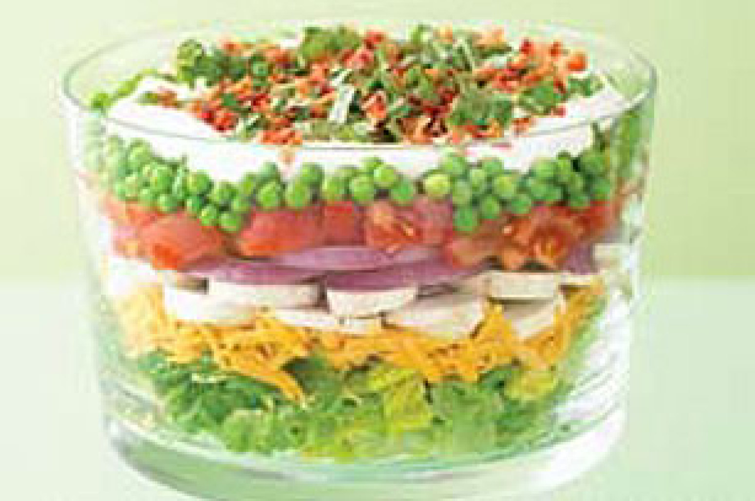 Layered Summer Salad Recipe 3 | Just A Pinch Recipes