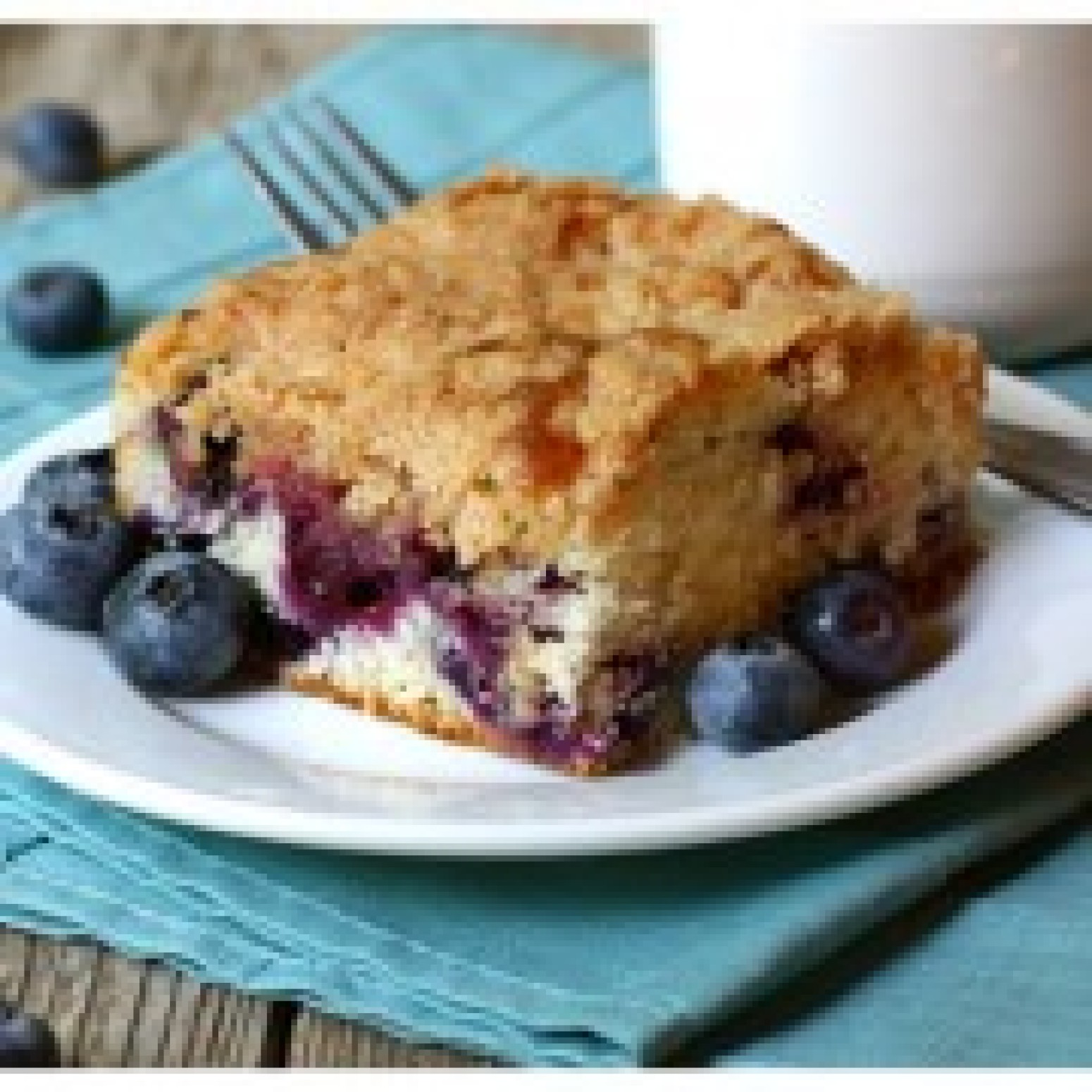 Mom's Blueberry Tea Cake Recipe   Just A Pinch Recipes