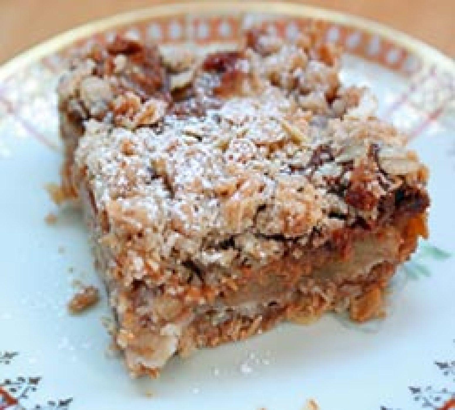 Dulce de Leche Apple Crumb Bars Recipe | Just A Pinch Recipes