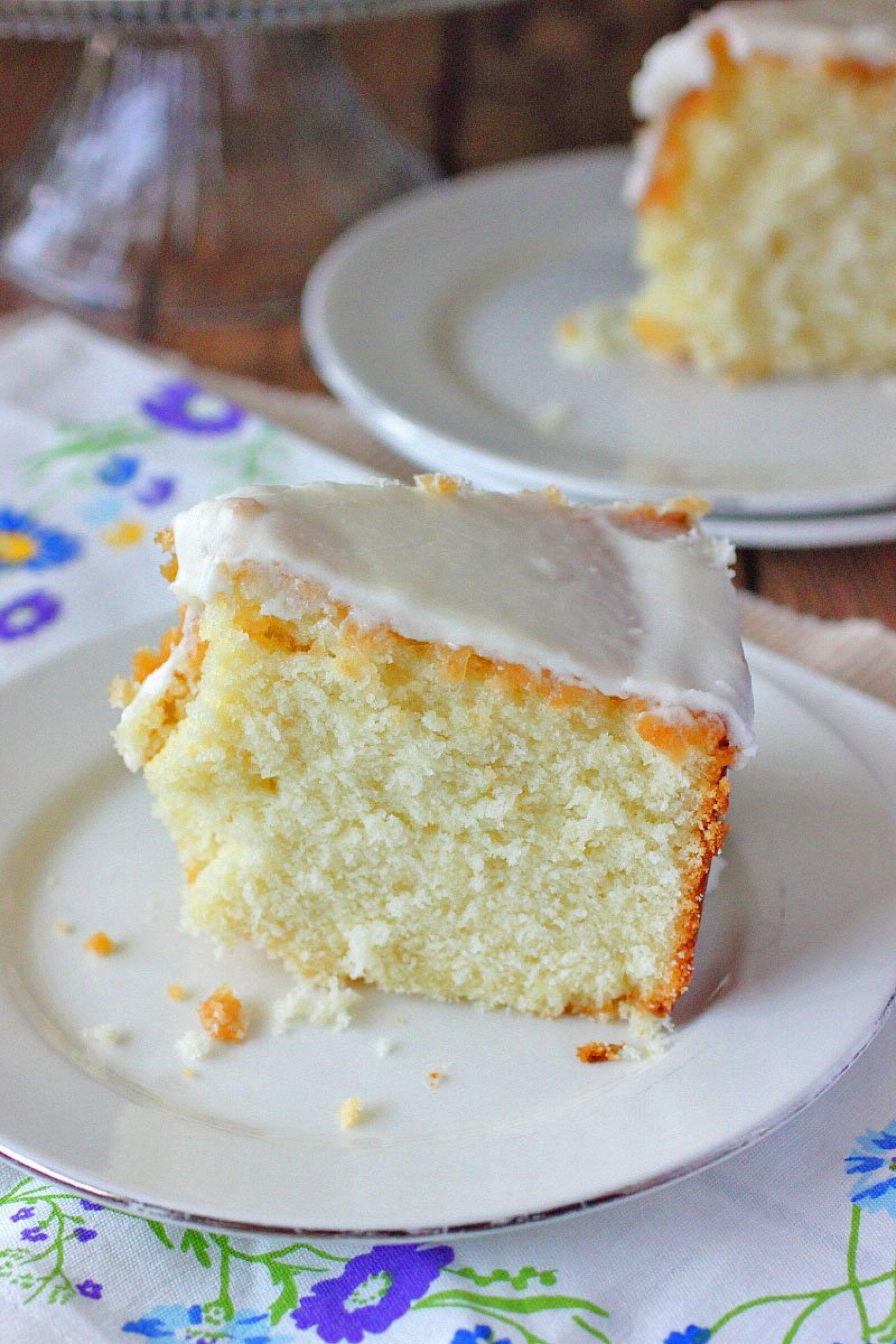 Louisiana Lemon Crunch Cake Recipe