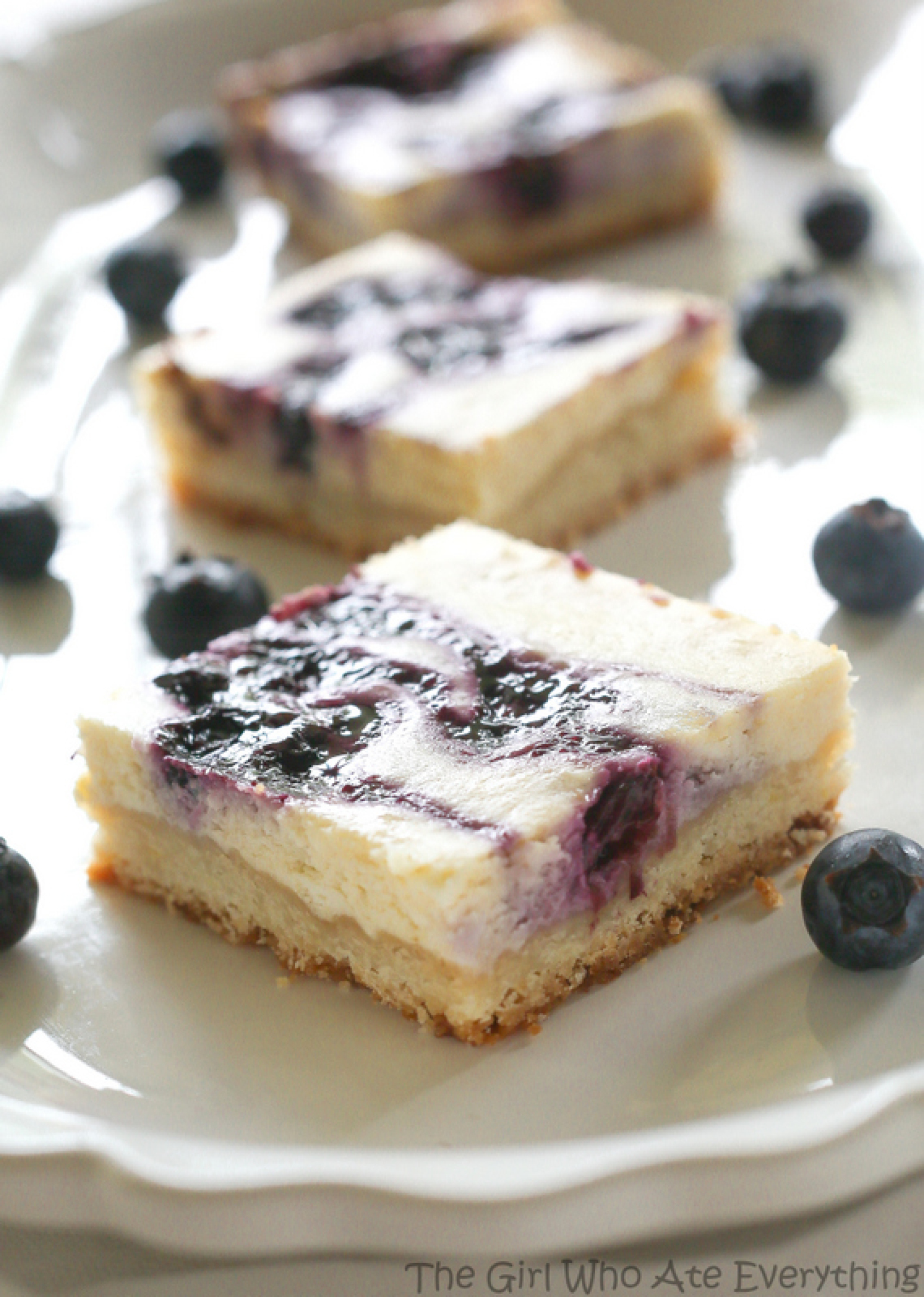 Blueberry Lemon Cheesecake Bars Recipe 5 | Just A Pinch Recipes