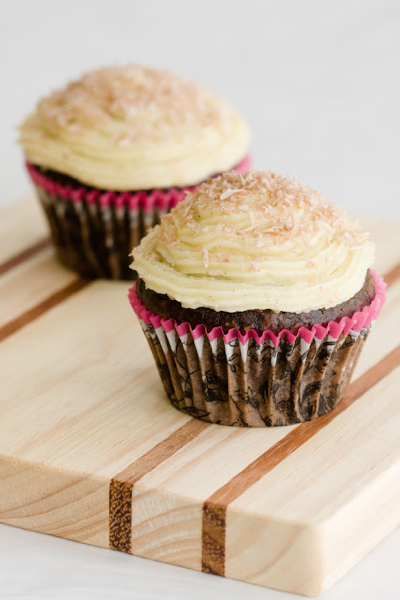 Chocolate Coconut Rum Cupcakes and an Announcement Recipe | Just A ...