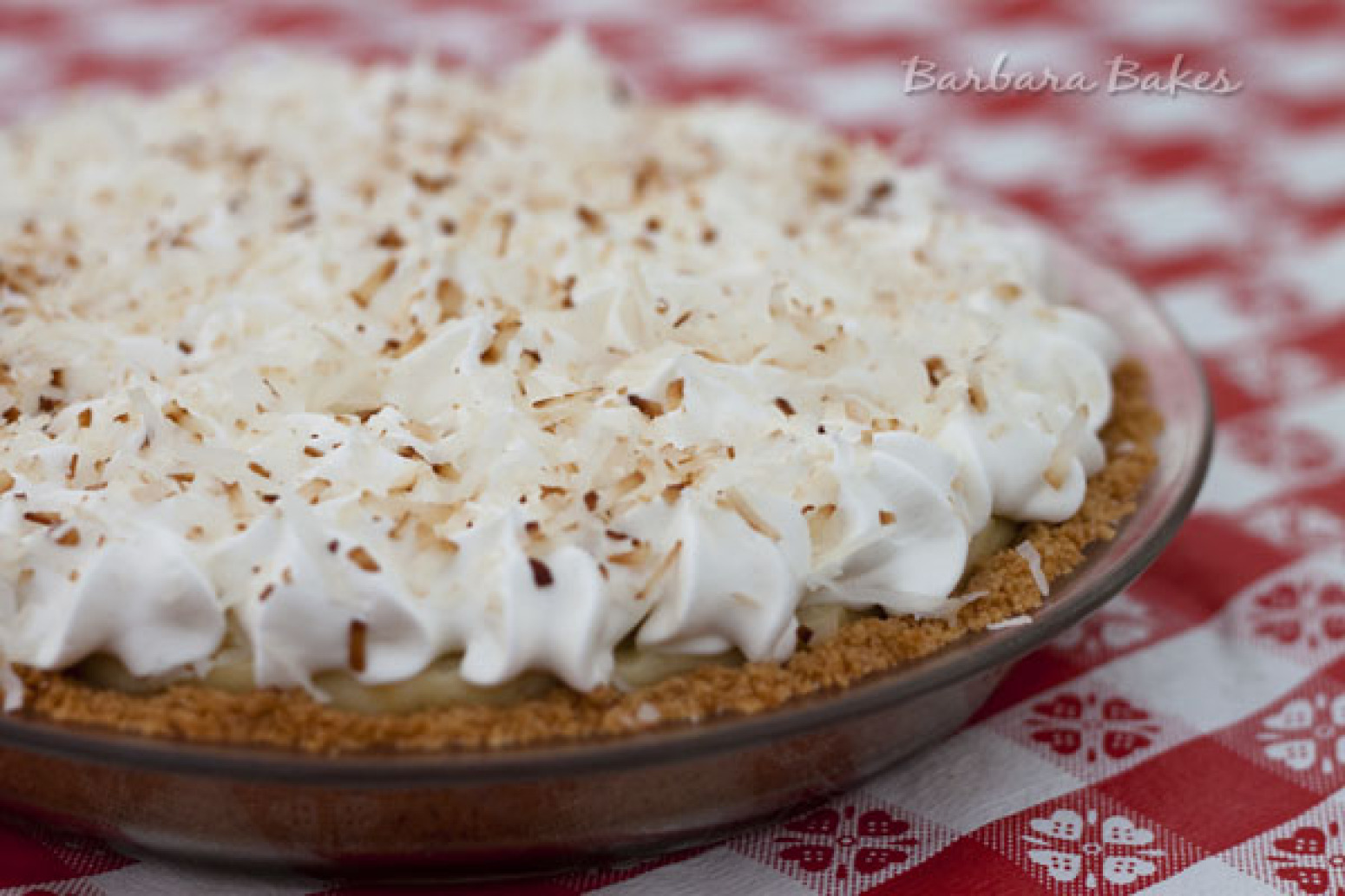 Coconut Cream Pie with a Coconut Cookie Crust Recipe 2 | Just A Pinch ...