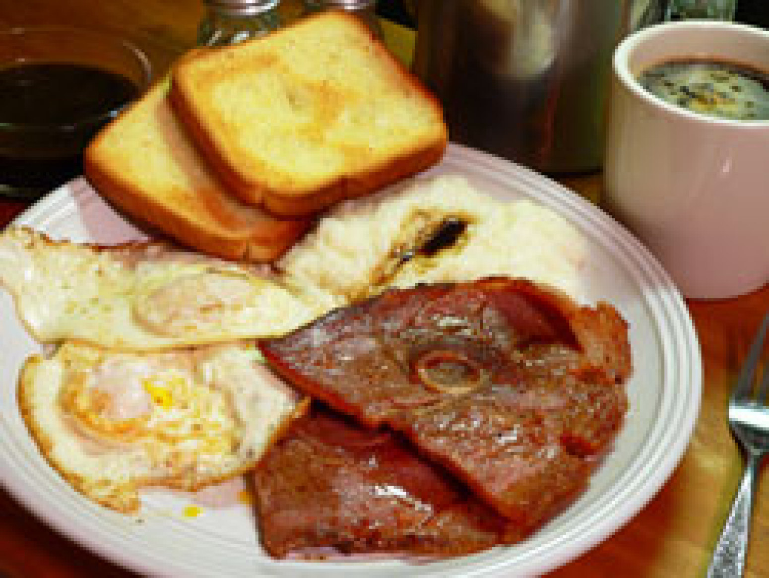 Country Ham and Red Eye Gravy Recipe 2 | Just A Pinch Recipes