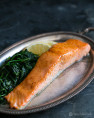 Honey Apple Cider Glazed Salmon Recipe
