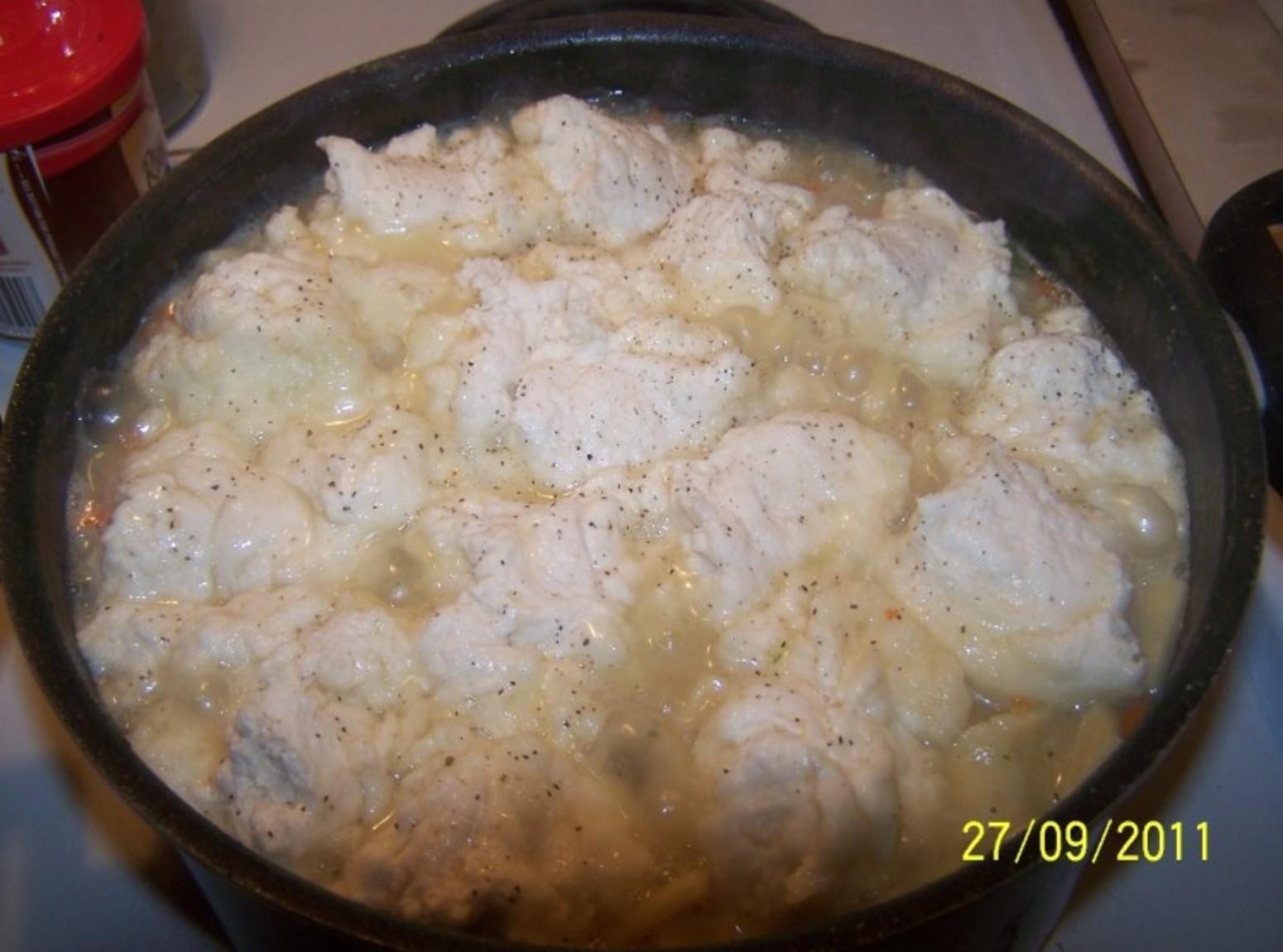 Homemade Chicken n Noodles with Dumplings Recipe