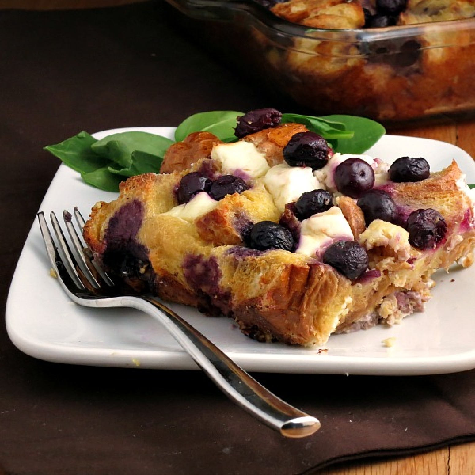 Overnight Blueberry Baked French Toast Recipe | Just A ...