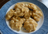 Pumpkin Butter Cookies with White Chocolate Chips