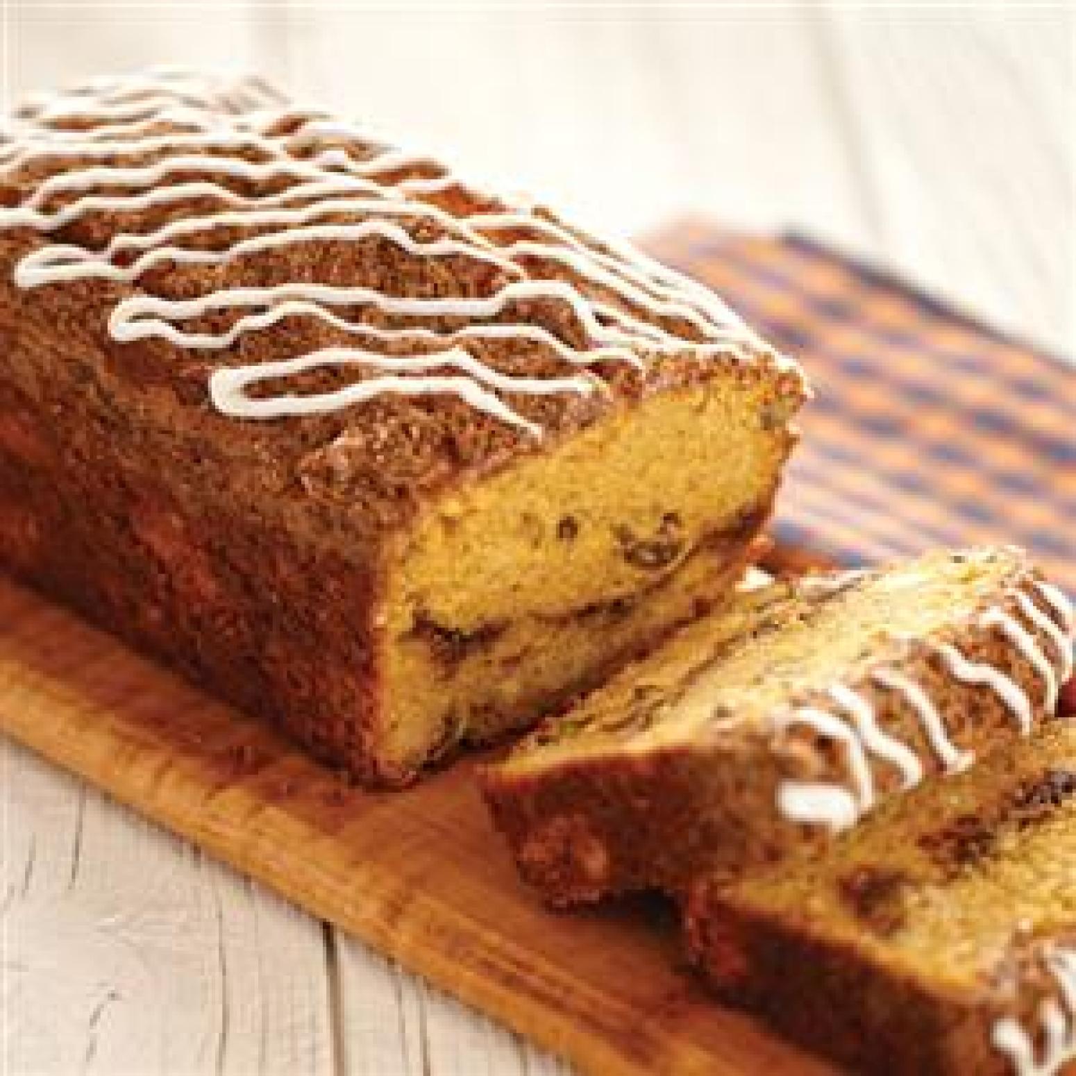 Spiced Pumpkin Pecan Quick Bread Recipe | Just A Pinch Recipes