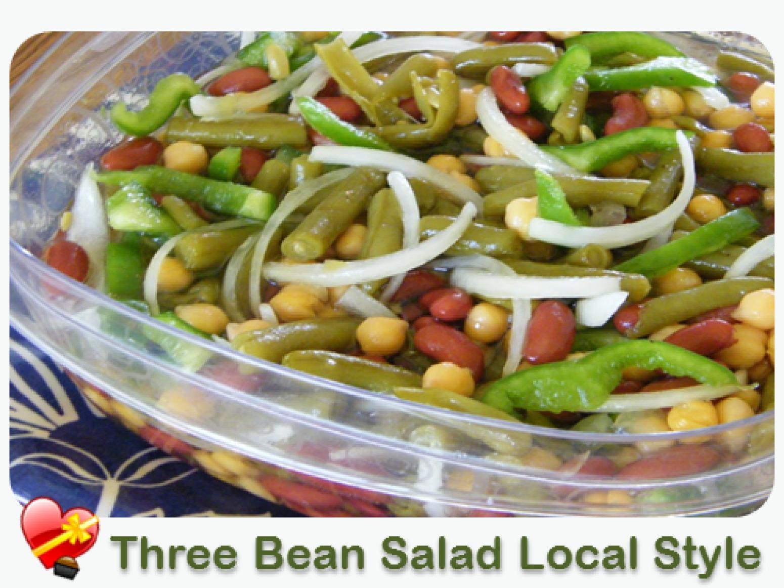 Three Bean Salad Recipe 14 | Just A Pinch Recipes