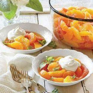 AMBROSIA WITH CHANTILLY CREAM Recipe