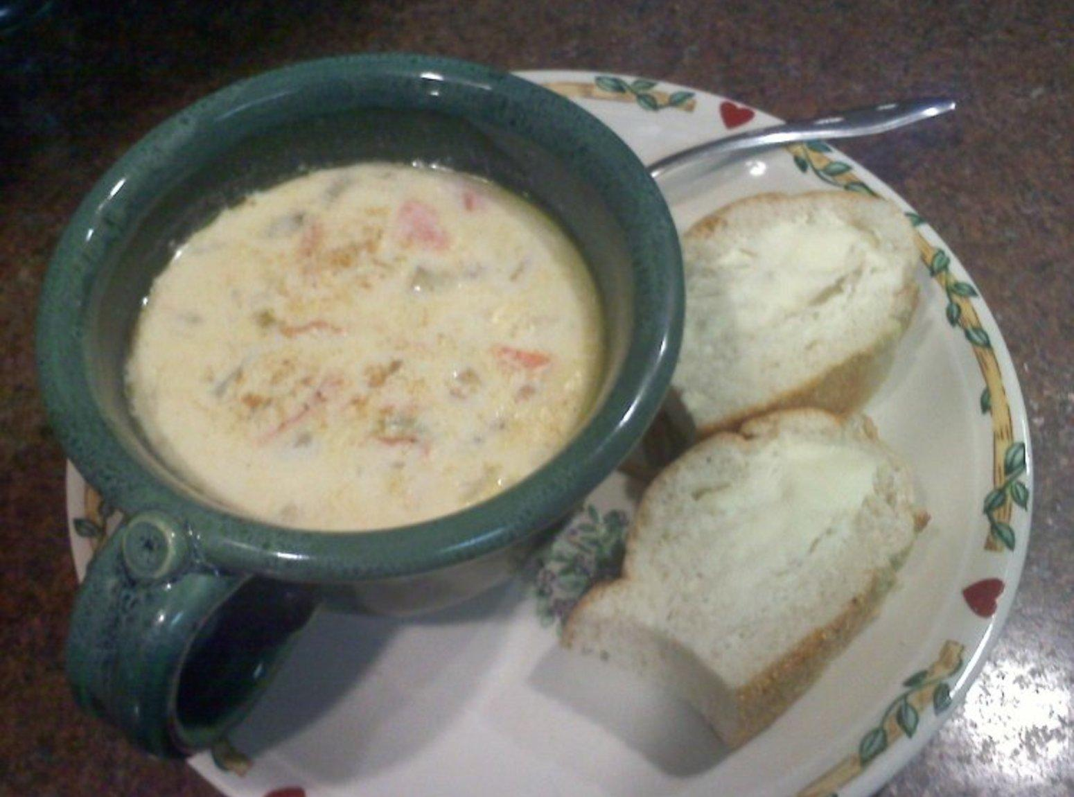 Maryland seafood chowder recipe just a pinch recipes for Recipe for fish chowder