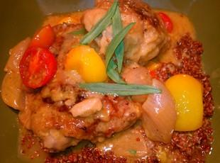 Braised Chicken with Shallots Recipe