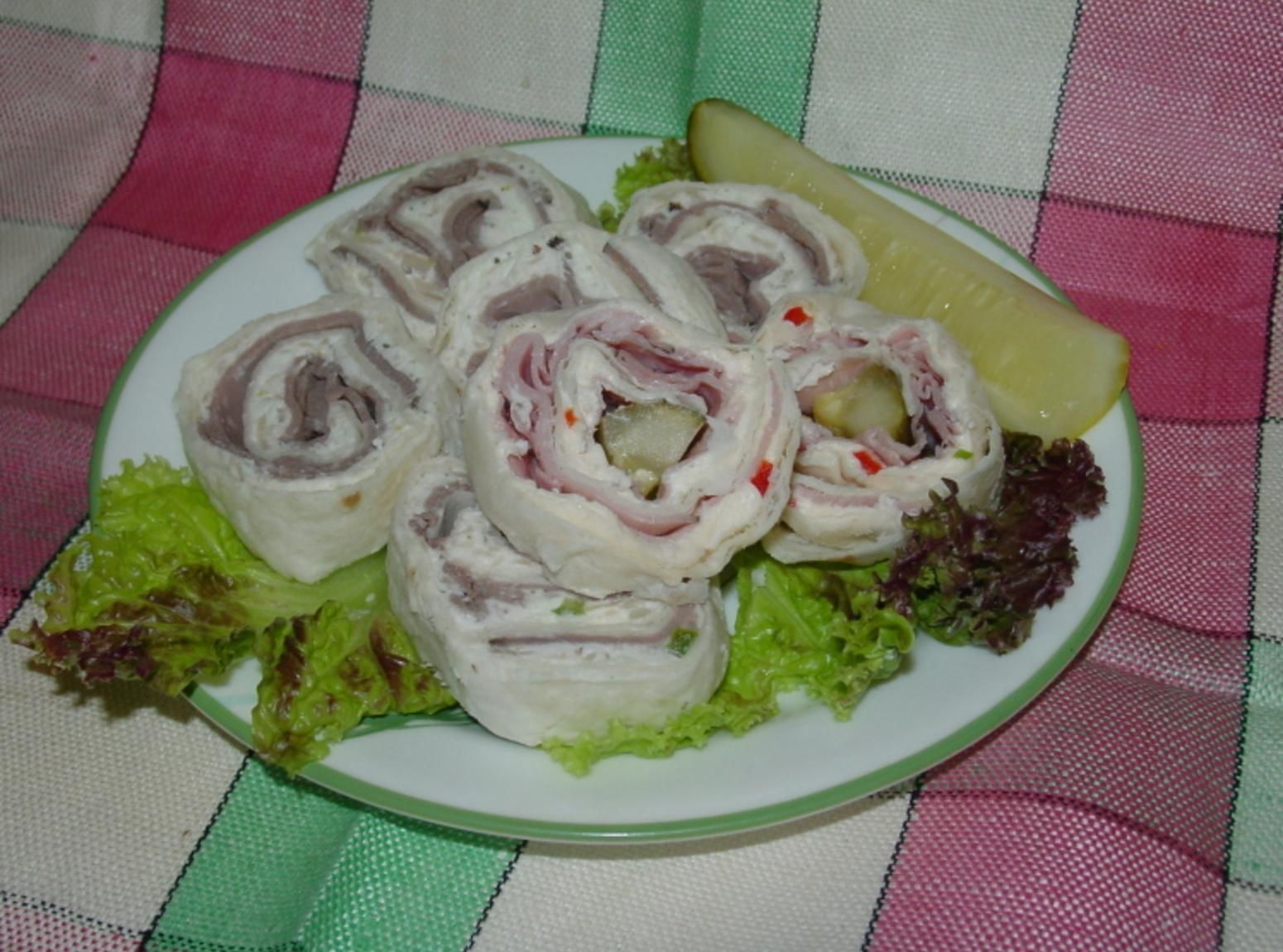 Pinwheel Appetizers Recipe