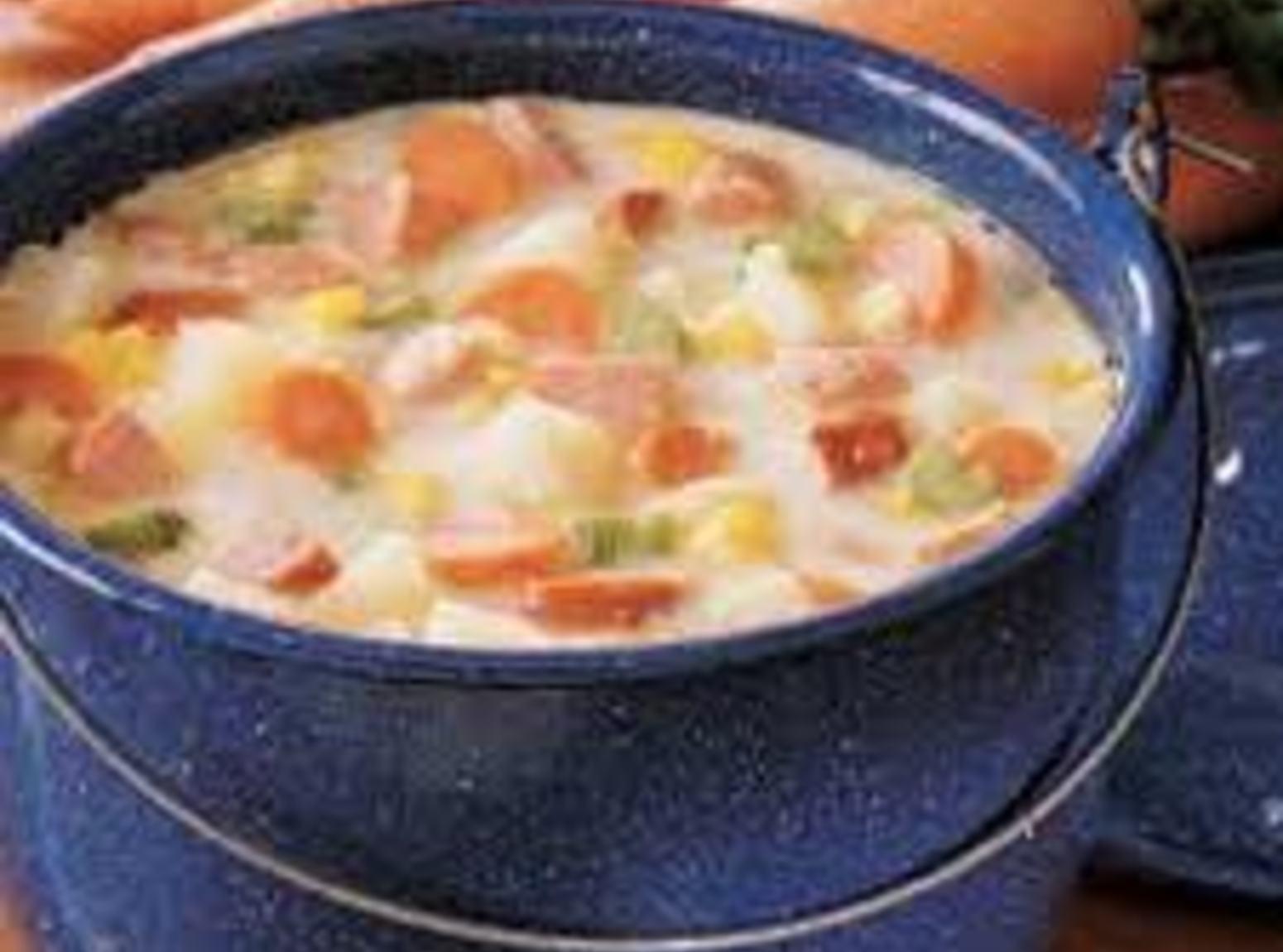 Pennsylvania Dutch Sausage and Potato Soup Recipe