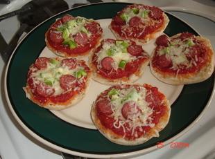 Mini Pizzas at Midnight Recipe