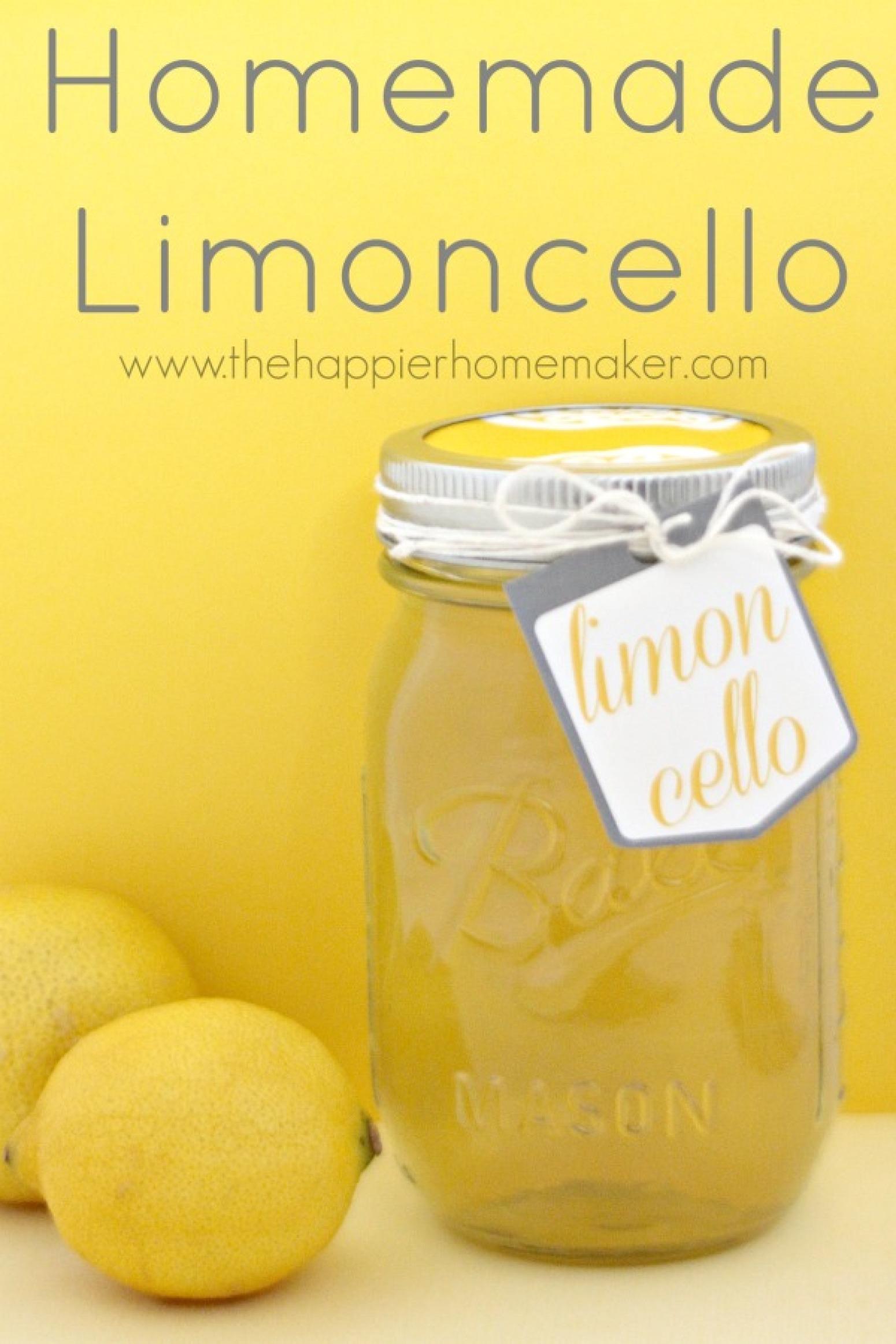 Homemade Limoncello-DIY Gift Idea Recipe   Just A Pinch Recipes