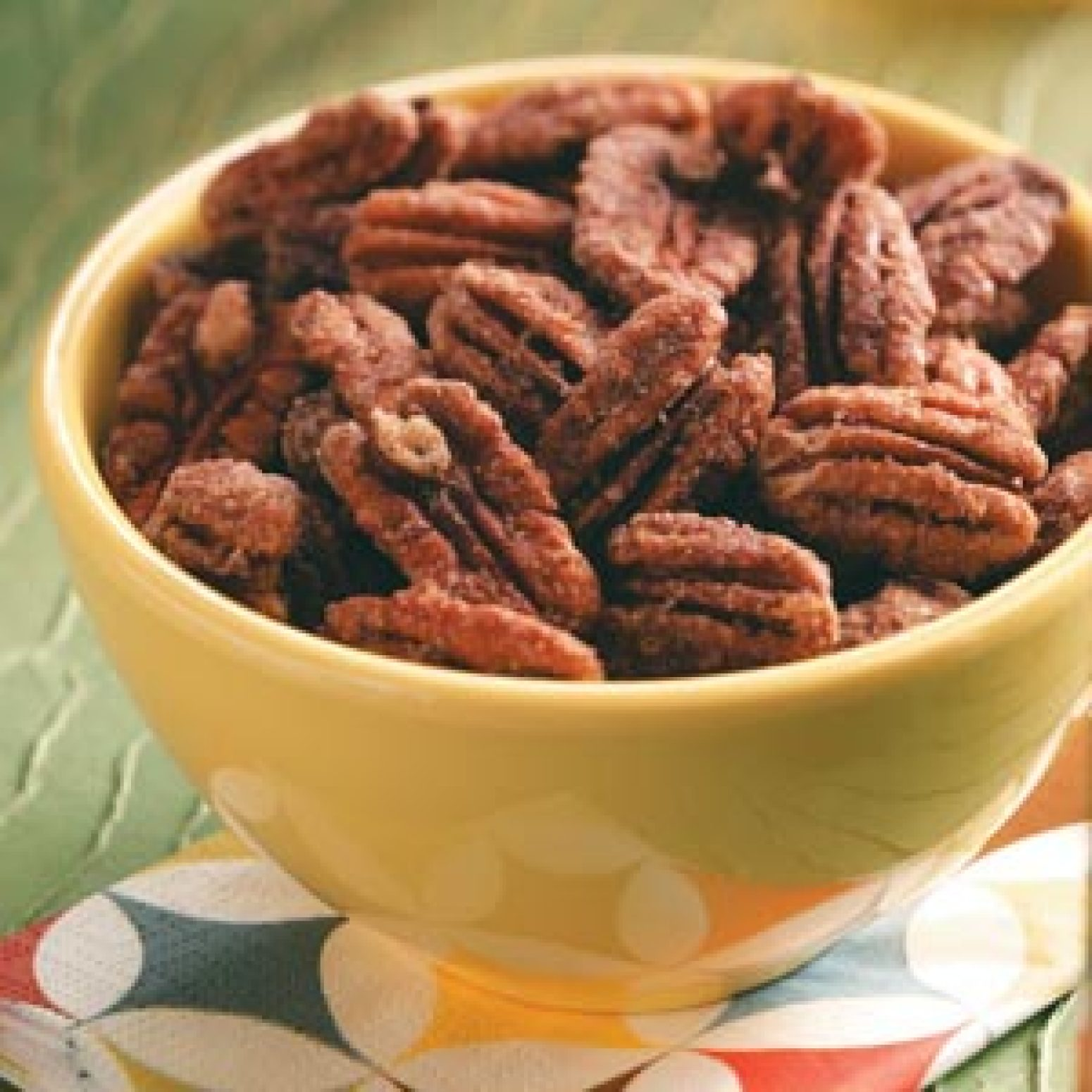 Five-Spice Pecans Recipe | Just A Pinch Recipes