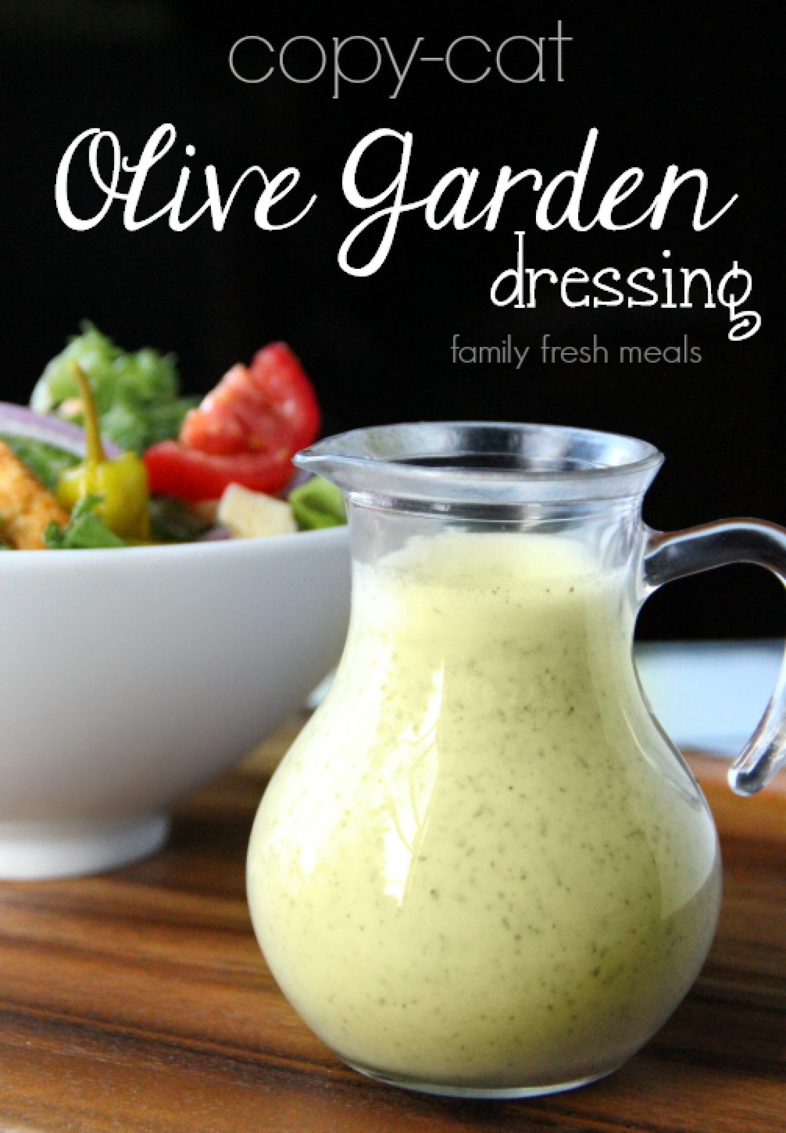 Copycat olive garden salad dressing recipe 3 just a - Olive garden salad dressing recipes ...