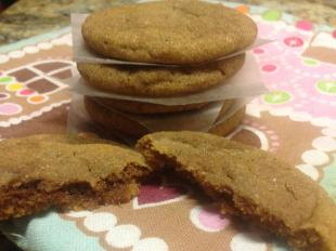 Gingersnap Spice Cookies Recipe
