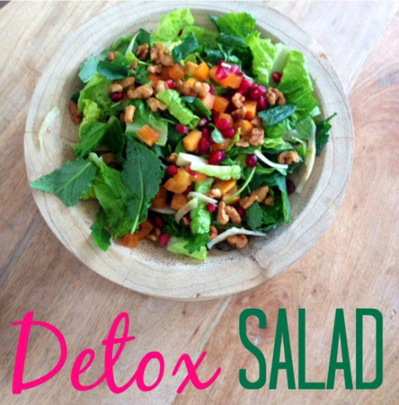 Detox Salad Recipe | Just A Pinch Recipes