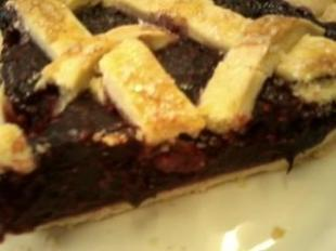 Raspberry-Cherry Pie Recipe