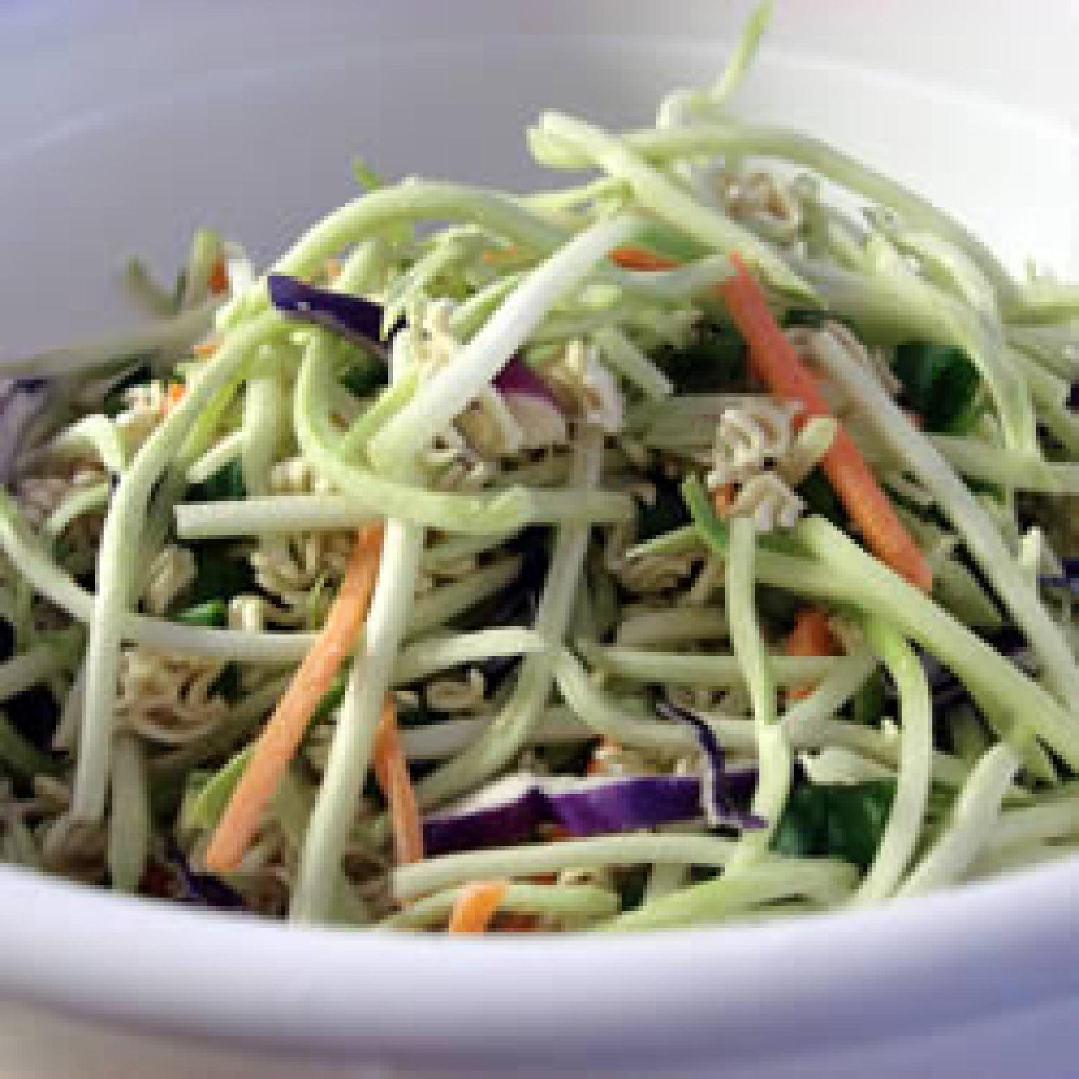 Broccoli and Ramen Noodle Salad Recipe | Just A Pinch Recipes