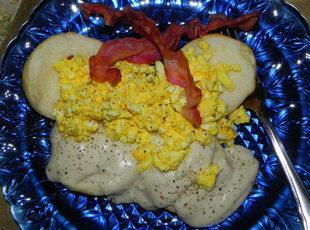 Grandpa's Eggs and Poorman's Gravy Recipe