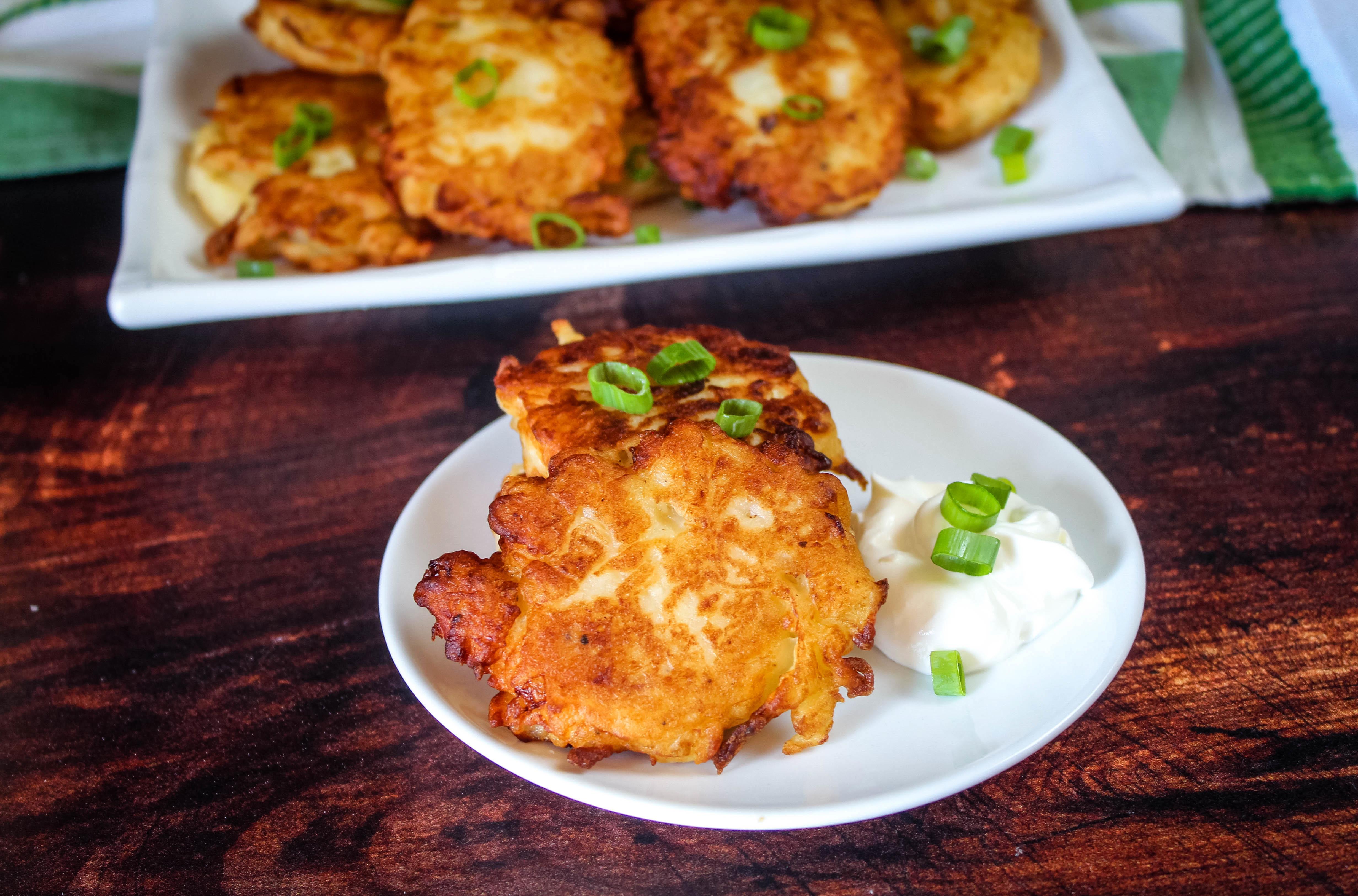 Irish Boxty (Crispy Fried Potato Cakes)A WIN! Recipe