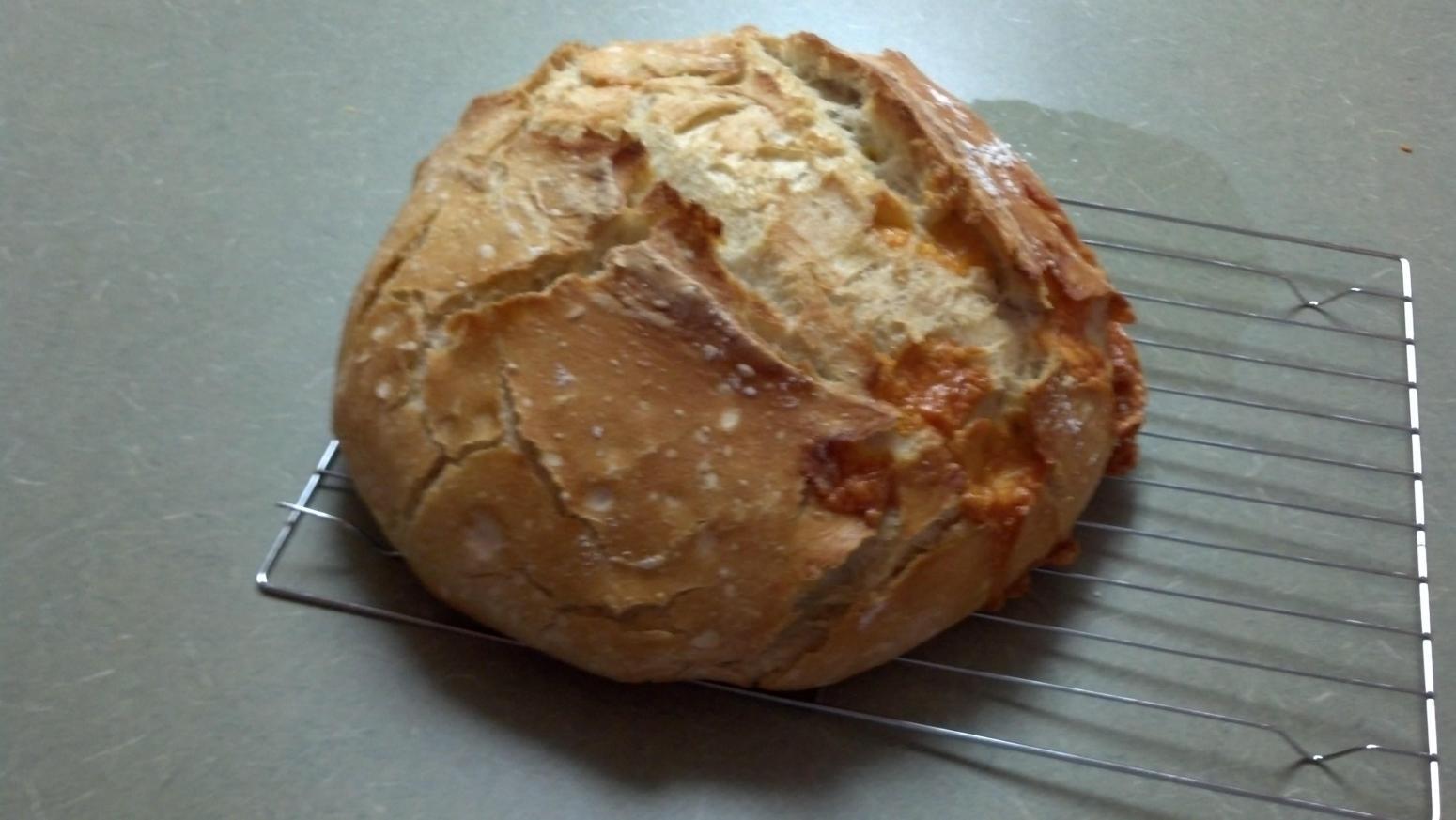 Crusty Homemade Bread Artisan Type Recipe