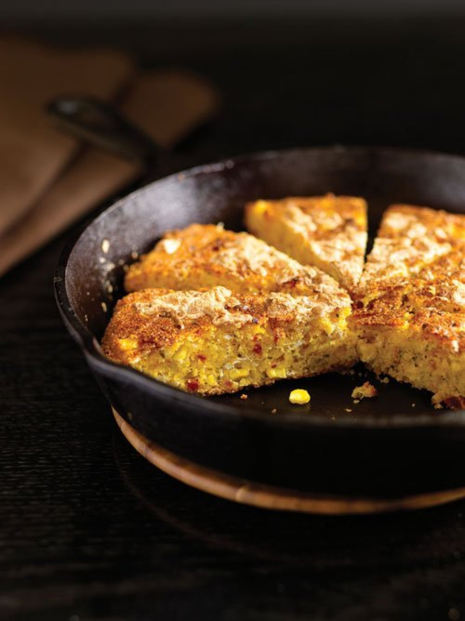 Double Corn Bread with Smoked Mozzarella and SunDried Tomatoes Recipe ...