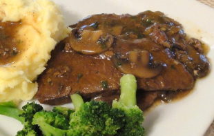Steak and Mushroom Gravy