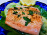 LEMON PEPPER SALMON in Foil