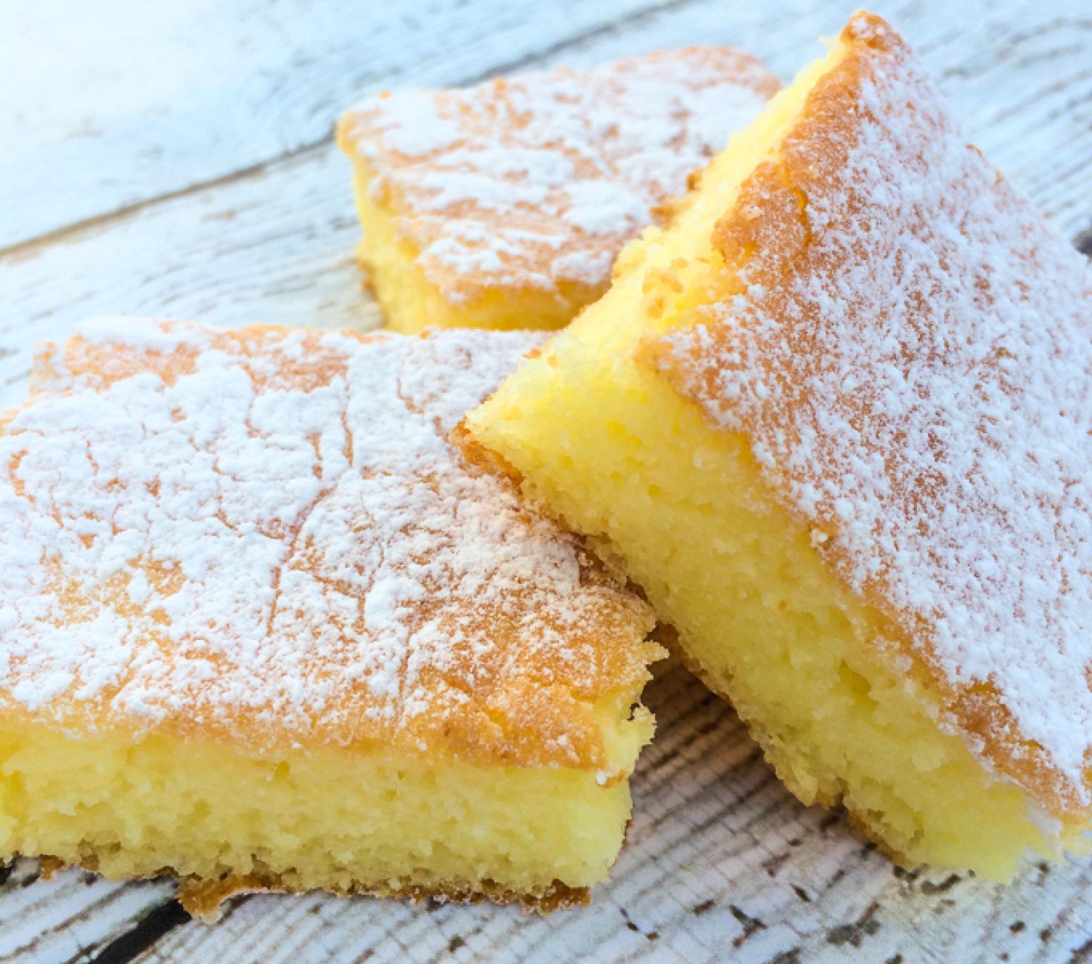 Ingredient Lemon Bars With Angel Food Cake