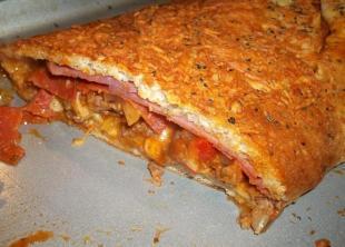 ~ Meat Lovers Italian Stromboli ~ Recipe